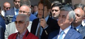 Charles Aznavour House Museum key handover ceremony