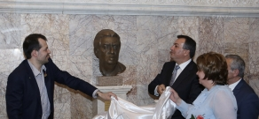 Opening ceremony of the bust to Armenian composer, People's Artist of the USSR Aram Khachaturian