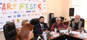 Press conference on 'Art Fest' International Youth Festival