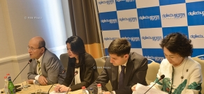 Press conference on 10th annual DigiTec business forum