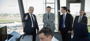 Armenian PM Karen Karapetyan visits General Department of Civil Aviation adjunct to the RoA Government