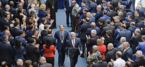 The inauguration ceremony of Yerevan Mayor Taron Margaryan