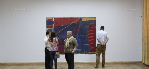 Пресс-конференция и персональная выставка швейцарского искусствоведа Терезы Вебер