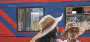 Yerevan-Batumi-Yerevan train route starts first trip in 2017
