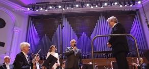 В Ереване состоялся концерт Большого симфонического оркестра им.Чайковского под управлением  Владимира Федосеева