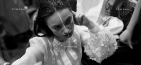 Показ коллекции уачастников молодежного фестиваля «Арт-Фест»