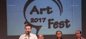 Церемония закрытия V международного молодежного фестиваля «Арт-Фест»