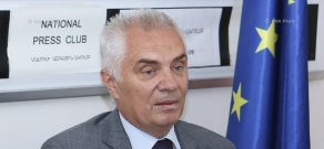 Press conference by Head of EU Delegation in Armenia Piotr Switalski