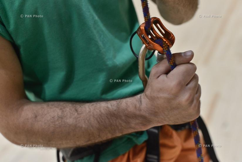 ՀՀ-ում ամենաբարձր ժայռամագլցման պատն է բացվել