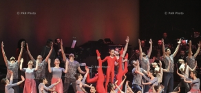 'Amen' musical dramatic show's premiere in Yerevan