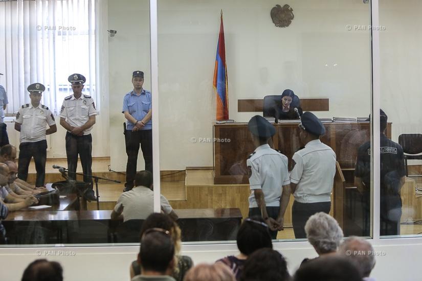 «Հիմնադիր խորհրդարանի» առաջնորդ Ժիրայր Սեֆիլյանի և մյուսների գործով դատական նիստը