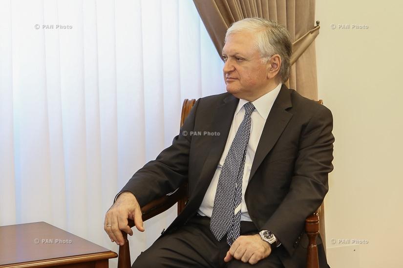 Արտգործնախարար Էդվարդ Նալբանդյանն ընդունեց «Կոնրադ Ադենաուեր» հիմնադրամի Եվրոպայի և Հյուսիսային Ամերիկայի գրասենյակների ղեկավար Լարս Հենզելին