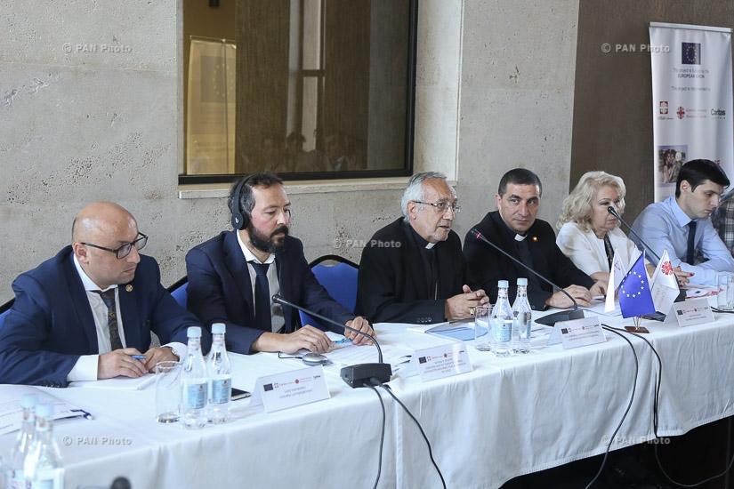 Եվրամիության կողմից ֆինանսավորվող «Ճանաչել: Պաշտպանել: Իրագործել» ծրագրի պաշտոնական մեկնարկը Հայաստանում՝ ուղղված սիրիահայերի ինտեգրմանը