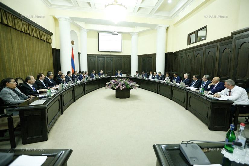 ՀՀ կառավարության հերթական նիստը