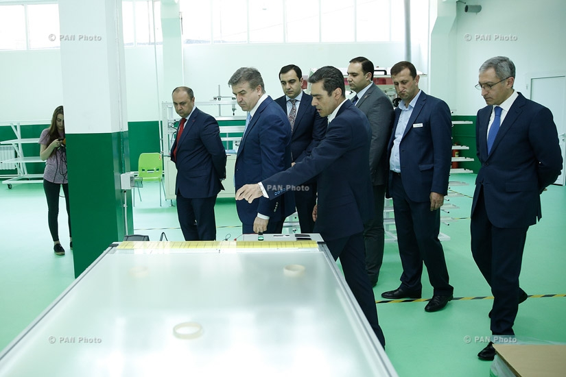 Official opening of SolarOn -  the enterprise for production of solar panels