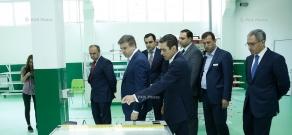 Հայաստանում արևային վահանակների առաջին արտադրող հանդիսացող «SolarOn»-ի պաշտոնական բացման արաողությունը