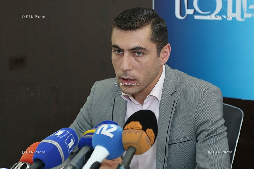 Пресс-конференция заместителя начальника Центра метеорологических прогнозов «Армгосгидромета» МЧС Армении Гагика Суреняна