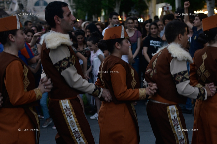 Traditional Armenian dances entitled Our Dances and We
