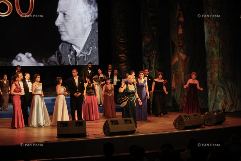 Event dedicated to 80th birth anniversary of RA People's Artists Yervand Ghazanchyan and Galya Novents