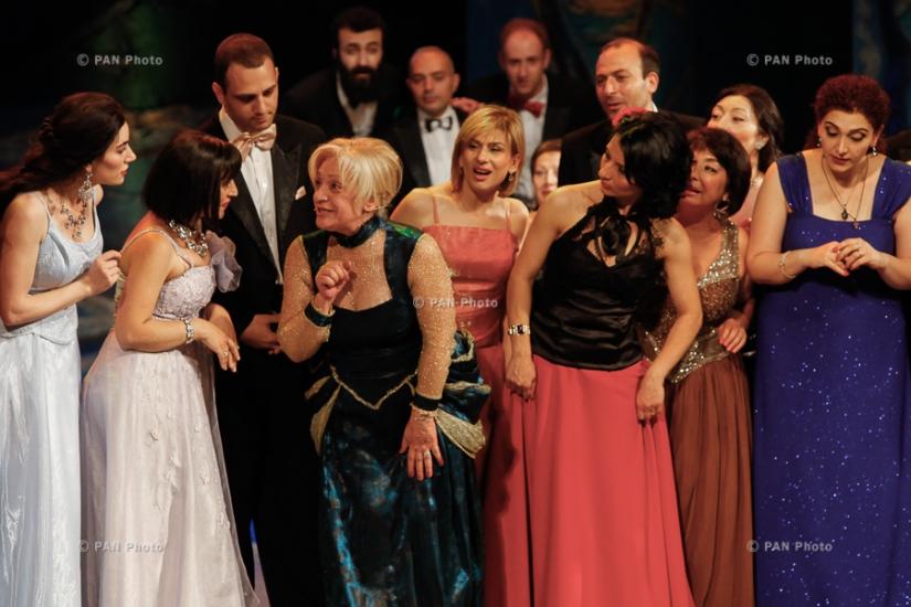 Мероприятие, посвященное 80-летию со дня рождения народных артистов РА Ерванда Газанчяна и Галя Новенц