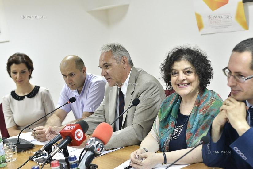 Совместная пресс-конференция организаторов Ереванского международного кинофестиваля «Золотой абрикос» и представителей иностранных посольств в Армении