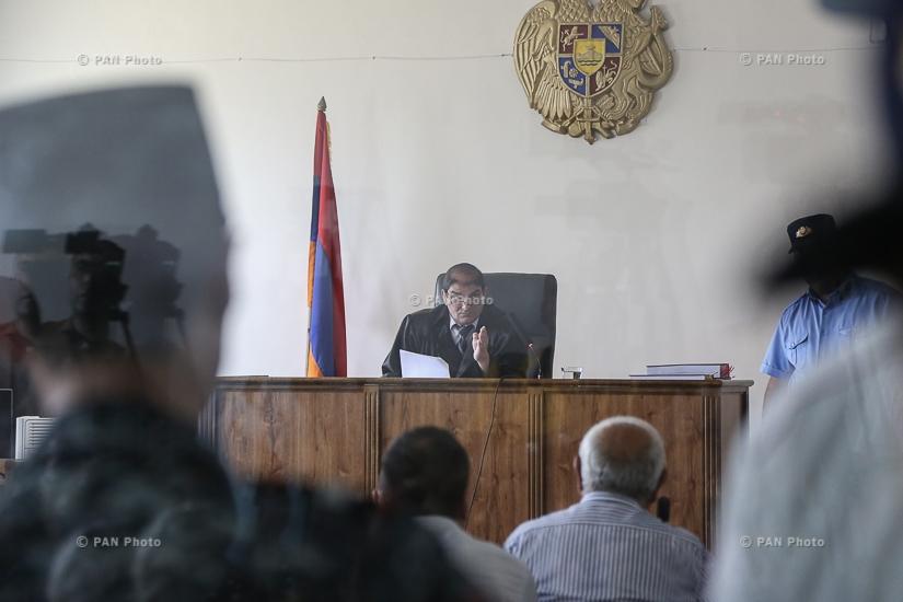 Заседание суда по делу «Сасна Црер»
