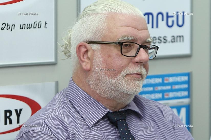 Пресс-конференция, посвященная запуску первого международного конкурса-фестиваля «Армения»