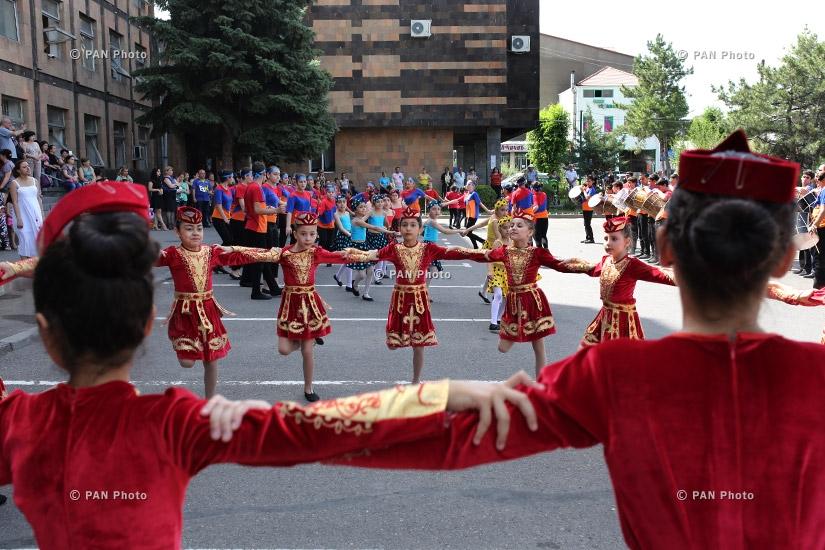 Культурный центр Административного округа Нор Норк организовал флеш-моб, посвященный Дню Конституции Армении