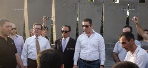 ՍԴՀԿ նորագիրների երդման արարողությունը Եռաբլուրում
