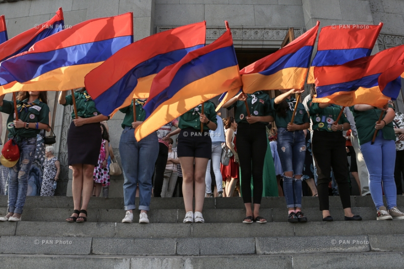 Armenia Celebrates Constitution Day and State Symbols