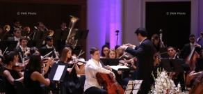 «Արմենիա» միջազգային մրցույթ-փառատոնի շրջանակներում Հայաստանի պետական երիտասարդական նվագախմբի համերգը`թավջութակահար Նարեկ Հախնազարյանի մասնակցությամբ