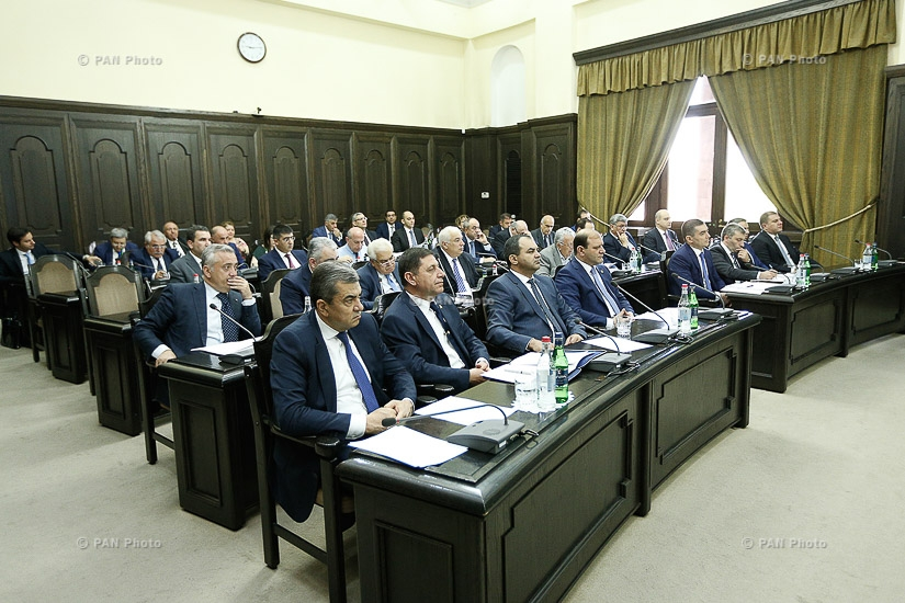 Внеочередное заседание Правительства РА