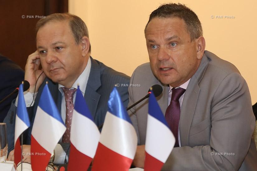 Официальное открытие конференции «Французские дни здравоохранения в Армении»