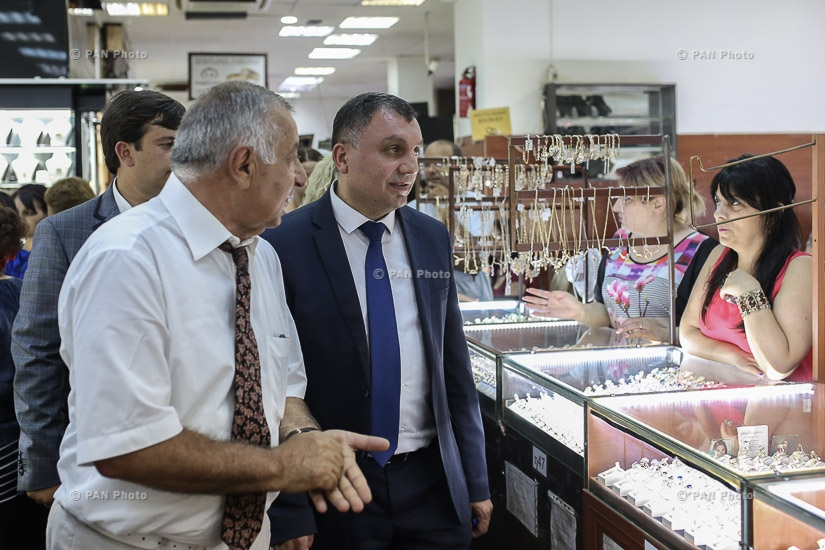 First exhibition-sale of Armenian jewelers entitled Armenia. Gold Jewelry Days 2017