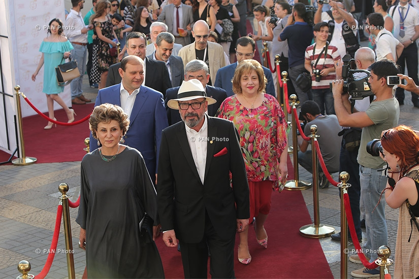 Opening ceremony of Golden Apricot 14th film festival