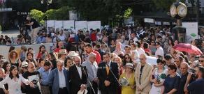 Церемония открытия 14-го кинофестиваля «Золотой абрикос»