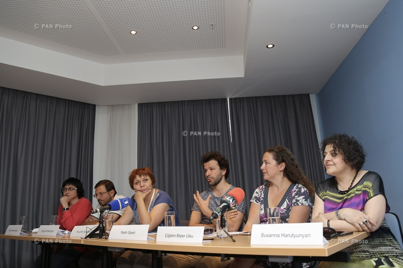Golden Apricot 14th film festival: Press conference on the opening of Armenia-Turkey Cinema Platform
