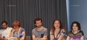 14-ый кинофестиваль «Золотой абрикос»: Пресс-конференция на тему «Открытие киноплатформы Армения-Турция»