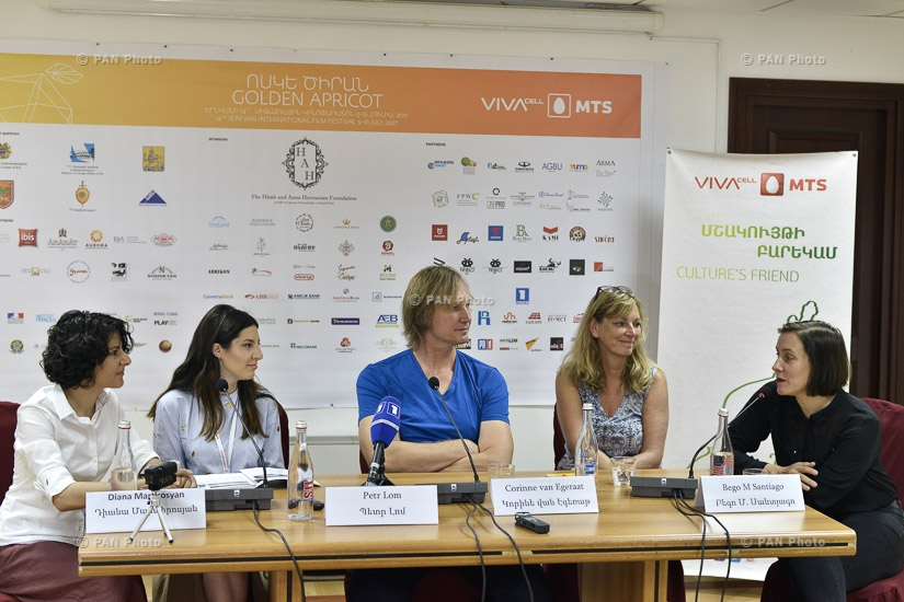 Golden Apricot 14th film festival: Press conference of Petr Lom, Corinne van Egeraat and Bego M Santiago