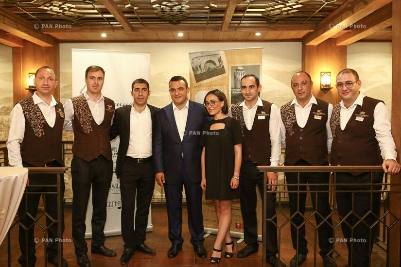 «Еремян Проджектс»  и Медиамакс  презентовали книгу «Ереван. XX век»