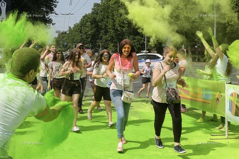 Yerevan Color Run 2017