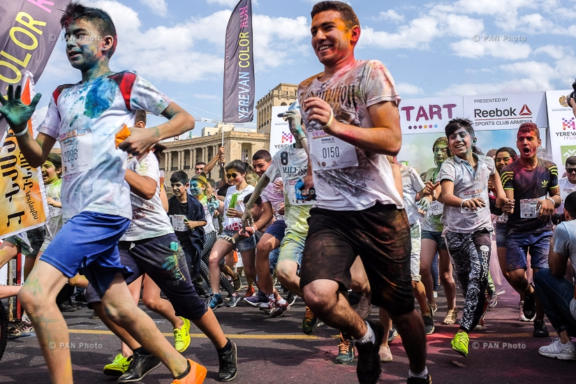 Yerevan Color Run 2017
