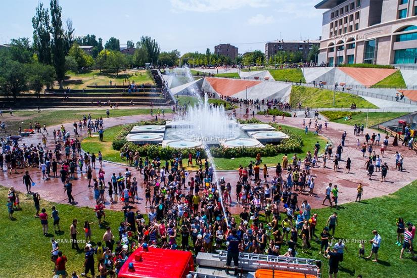 Вардавар 2017 в Ереване