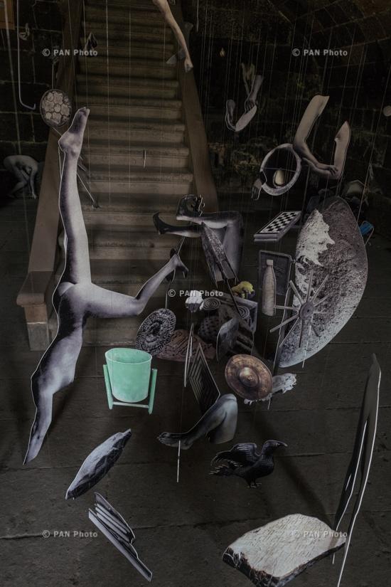 Marta Dell'Angelo, Collage vivant, 2017