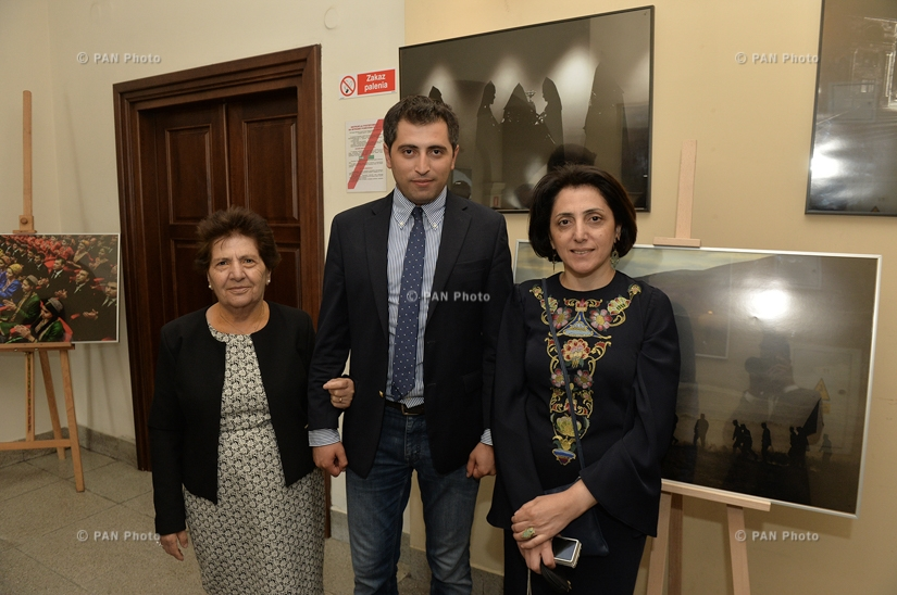 Photographer Davit Hakobyan's personal exhibition in Lublin, Poland