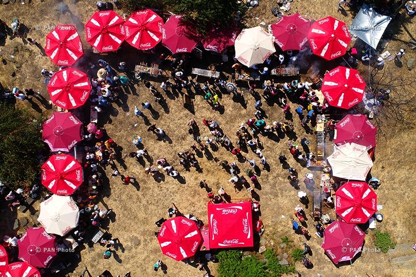The 9th Barbecue Festival in Akhtala , Armenia