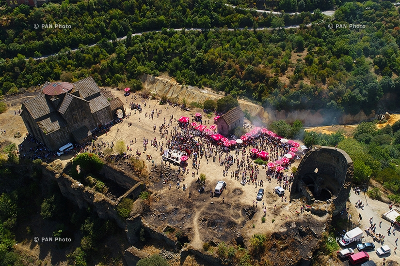 The 9th Barbecue Festival in Akhtala , Armenia
