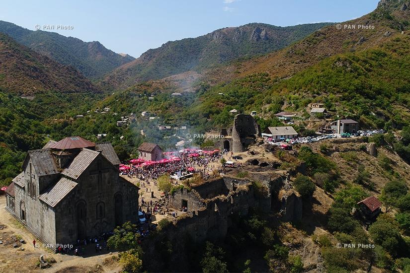 Девятый Шашлычный фестиваль в городе Ахтала Армении