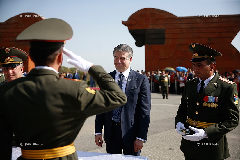 Solemn graduation ceremony of graduates of military-educational institutions of the Ministry of Defense of the Republic of Armenia