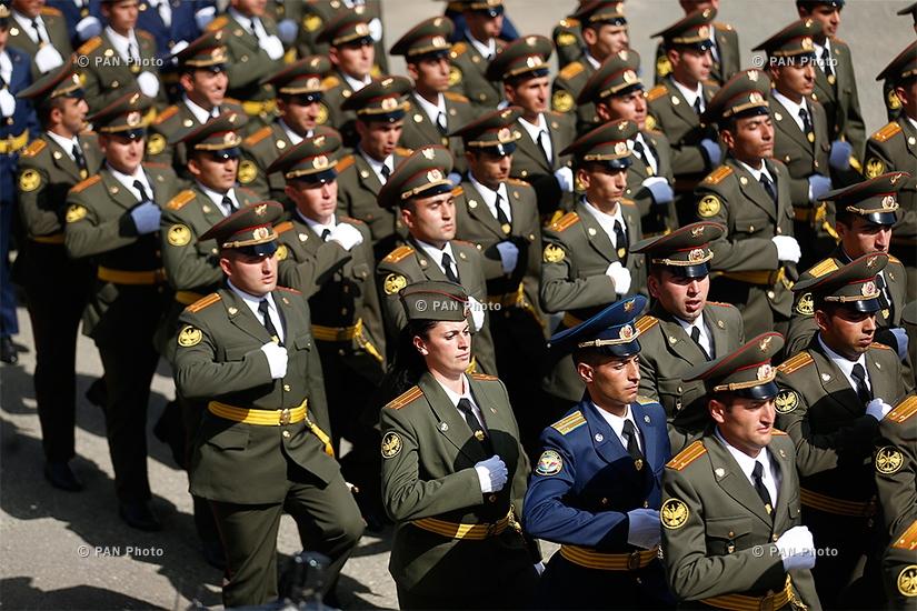Торжественное выпускное мероприятие военных учебных заведений МО РА